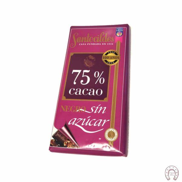 Chocolates Santocildes 75% Sin Azúcar