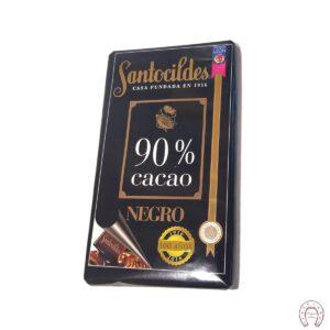 Chocolates Santocildes 90% Negro