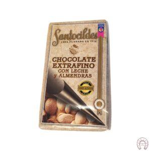 Chocolates Santocildes con Leche y Almendras